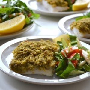 Pesto Crust Fish 1