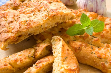 Cheese & Herb Scone Bread