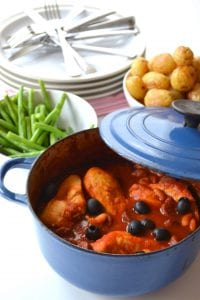 Chorizo Chicken Stew 4