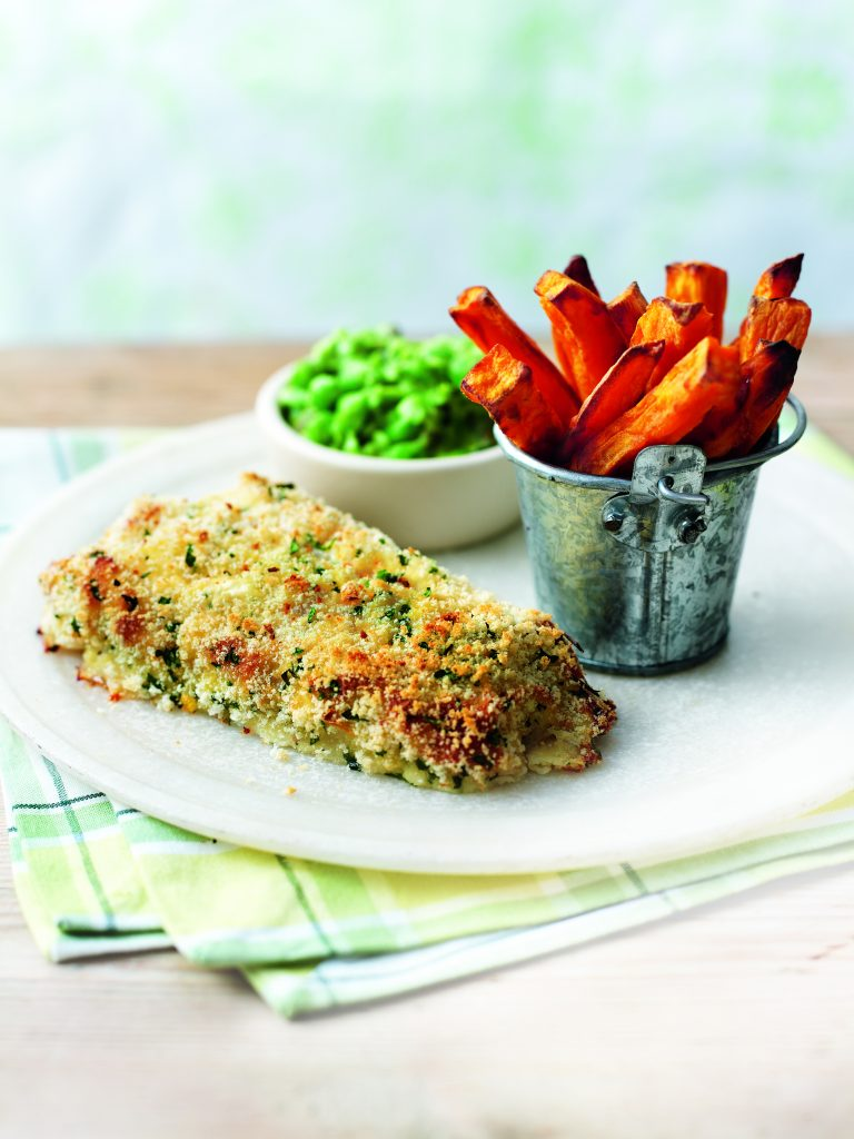 Oven-Baked Fish & Chips