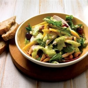 chicken-salad-mango-dressing