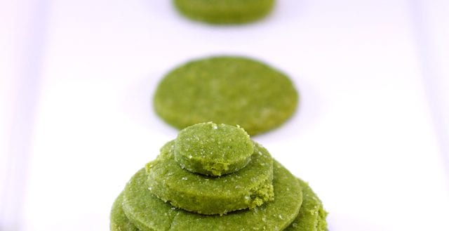 dessert greentea shortbread