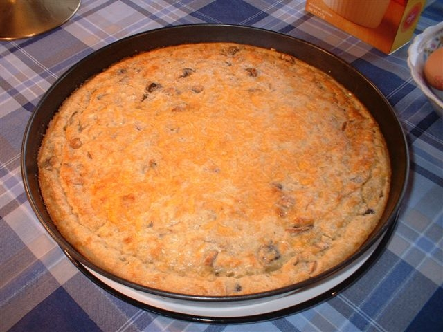 Onion Quiche (Crustless)