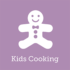 kids cooking; cooking with children