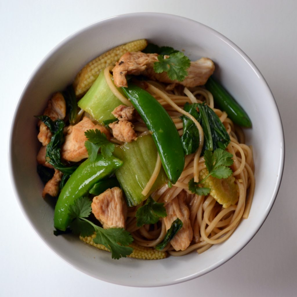 Honey Soy Chicken stir fry with noodles; chicken stir fry recipe; i love cooking; poultry