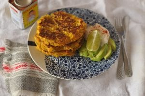 Smoked Paprika Corn Cakes Lilly Higgins; Lilly Higgins; corn fritter