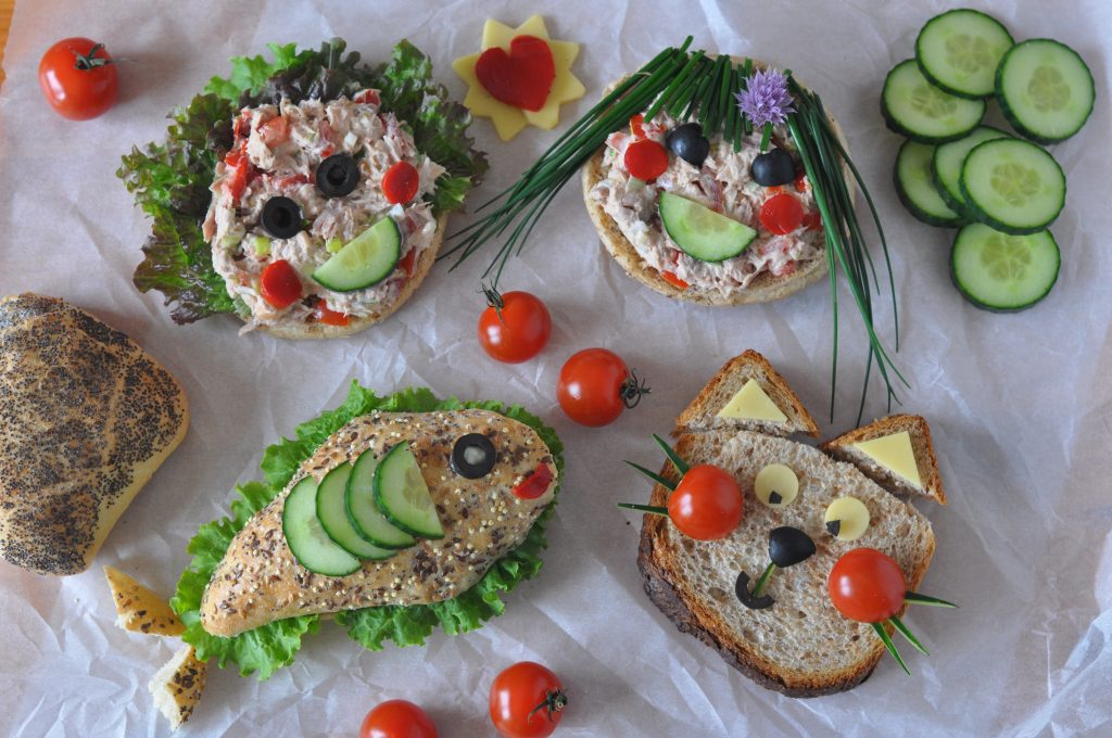 Kids Sandwiches Ilovecooking