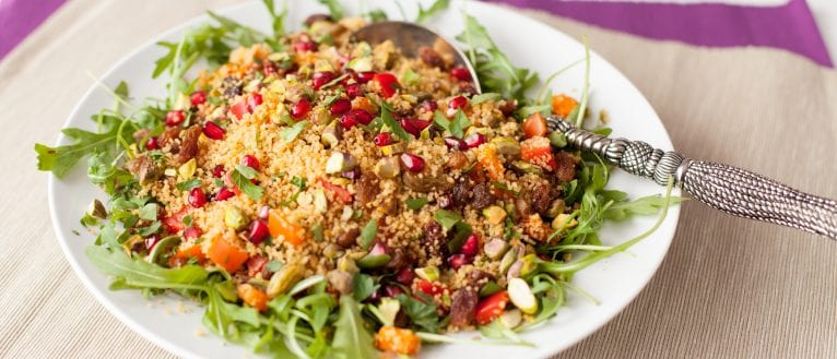 Couscous Salad; salad recipe; side dish; Easter recipe
