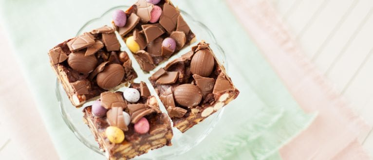 No Bake Chocolate Biscuit Cake With Maltesers