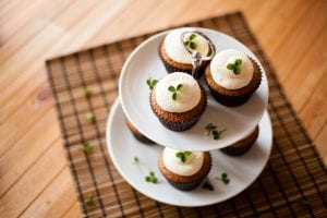 Irish Coffee Cupcakes; cupcake recipe; st patrick day recipe