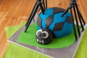 spider_cake_i_love_cooking; kids_birthday_cake; boys_birthday_cake; i_love_cooking_cake_recipe