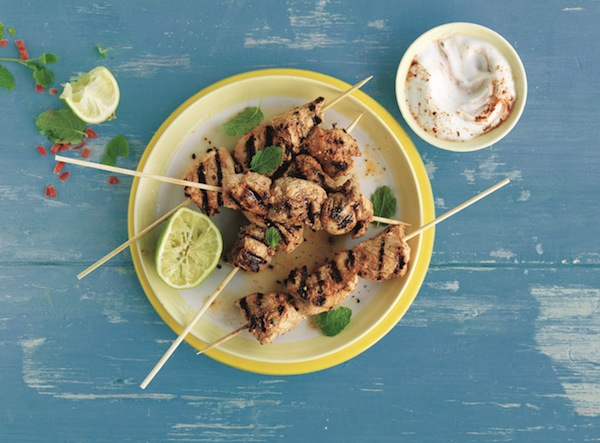 Spiced Mexican Turkey Skewers