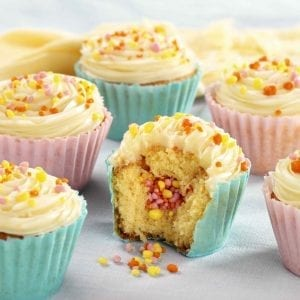 Surprise Inside Cup Cakes