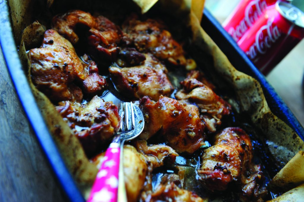 Easy Cola Chicken Recipe — Dishmaps