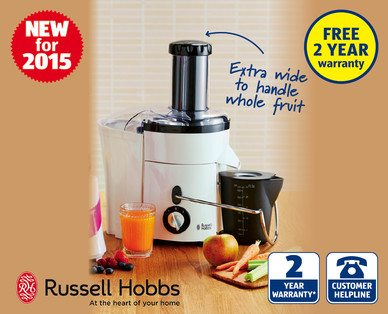 Russell Hobbs Slow Juicer : Kitchen Kit At Aldi - ILoveCooking
