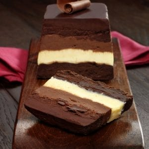Four Chocolate Terrine