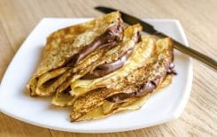 Crepes with Nutella