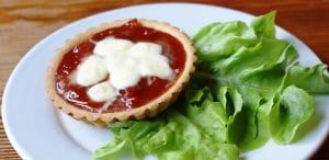 27. Mozzarella & Follain Tomato Relish Tartlets photoshoped