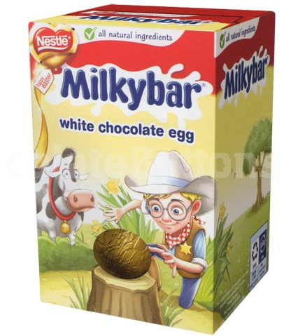 Milky Way White Chocolate Easter Egg