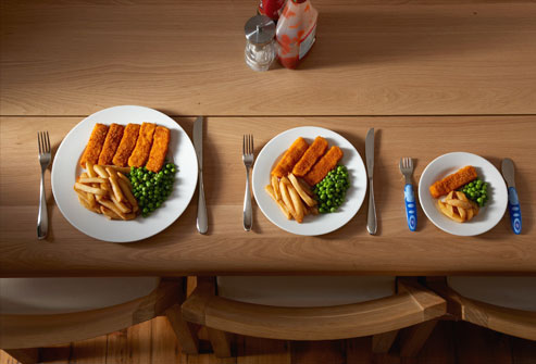Getting To Know Portion Sizes Ilovecooking