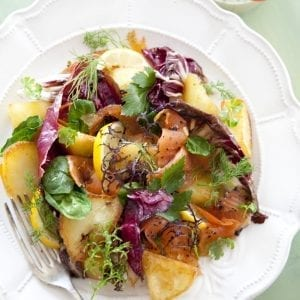 Catherine Fulvio St Patricks Day Warm Salad I Love Cooking