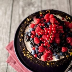 Summer Berry Tart No Bake