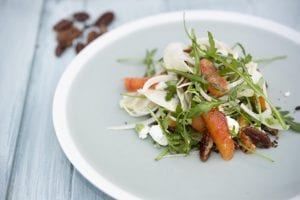 Blood Orange Goats Cheese & Fennel Salad