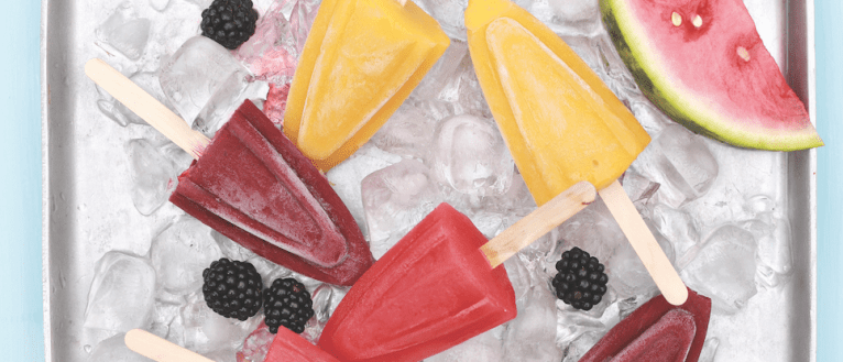 Fresh Fruit Ice Lollies - ILoveCooking