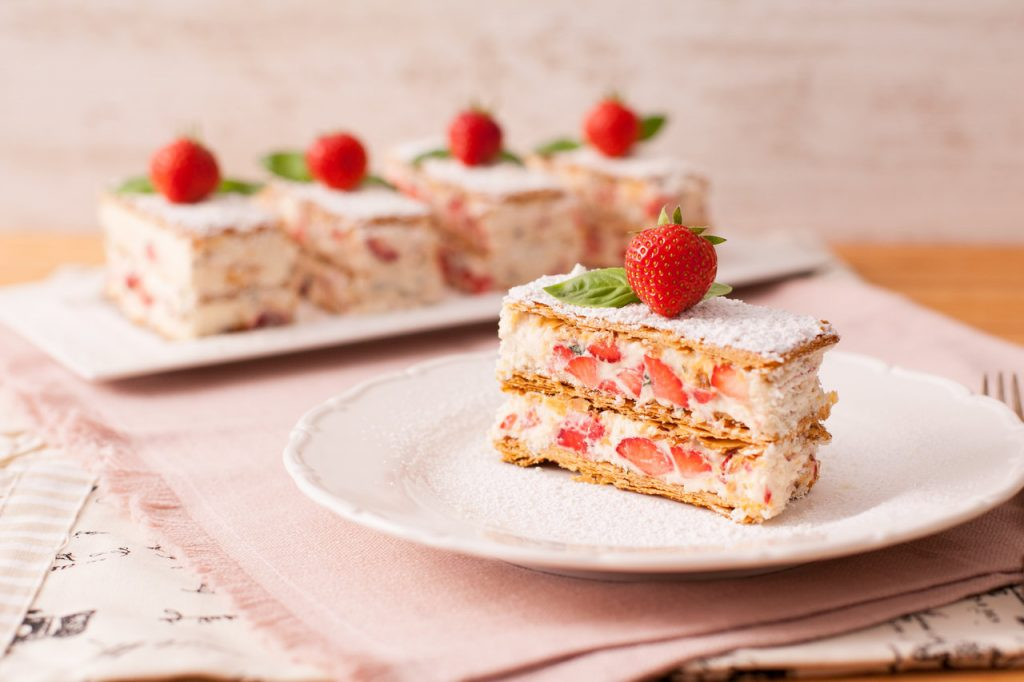 Strawberry Millefeuille Ilovecooking