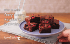 How to make chocolate raspberry brownies