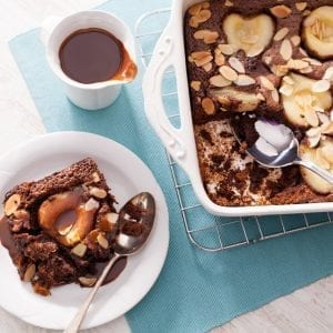 chocolate-pear-pudding