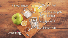 How To Make Apple Crumble Video