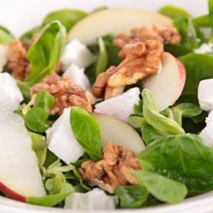Keelings apple and walnut salad