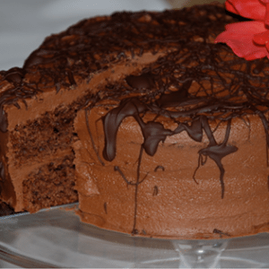 easiest ever chocolat ecake