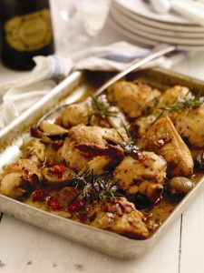 Chicken with Prosecco Catherine Fulvio