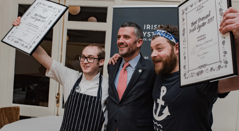 """Bord Bia hosted its inaugural """"Best Dressed Oyster"""" competition at London's Hix Oyster & Chop House restaurant"""