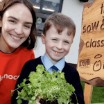 45,000 children to learn to grow their own food at school