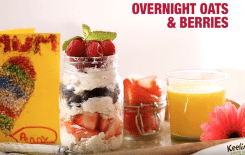 Mother's Day Keelings Overnight Oats Recipe I Love Cooking