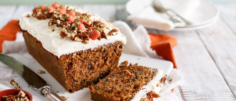 carrot_cake_loaf_recipe, I Love cooking, cake recipe, baking , www.ilovecooking.ie, Ireland's recipe website