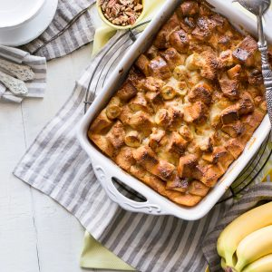 Fyffes Banana Bread Pudding, banana recipe, dessert recipe, i love cooking, i love cooking ireland, www.ilovecooking.ie