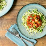 Courgetti & Chicken Meatballs