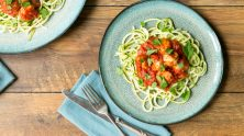 Manor Farm's Courgetti & Chicken Meatballs is a great healthy dish and a perfect family dinner. I Love Cooking, I Love cooking ireland, chicken recipes, healthy chicken recipe, family recipes, healthy recipe, irish recipe website