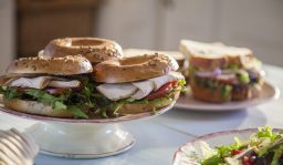 Homebird Turkey Avocado Bagels, I Love Cooking, Chicken recipes