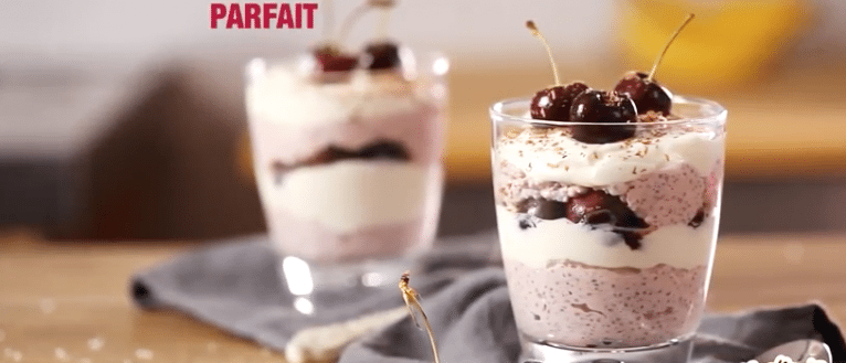 Keeling Healthy Cherry Parfait recipe, I love cooking, www.ilovecooking.ie, cherry recipes ireland