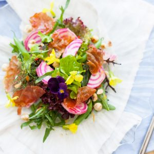 Catherine Fulvio Beetroot and Prosciutto Salad with Orange Dressing, I Love Cooking Ireland