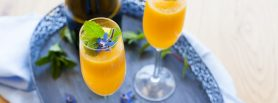 Catherine Fulvio Peach Bellini recipe, Chef Recipe Series i Love Cooking Ireland