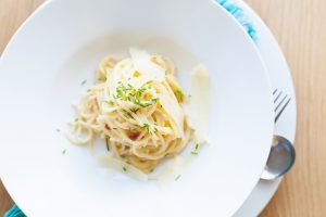 Chef Recipe Series Catherine Fulvio Spaghetti alla Carbonara, i Love Cooking