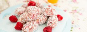 Coconut Raspberry Bites, Sharon Hearne Smith, Healthier Treats For kids, I love cooking