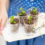 Healthier Treats For Kids: Minty Choco-Mole Mousse Pots