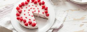 Raspberry No Bake Cheesecake, cheesecake, raspberries, i love cooking, i love cooking ireland